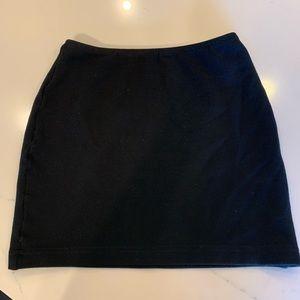 Black American Apparel Mini Skirt